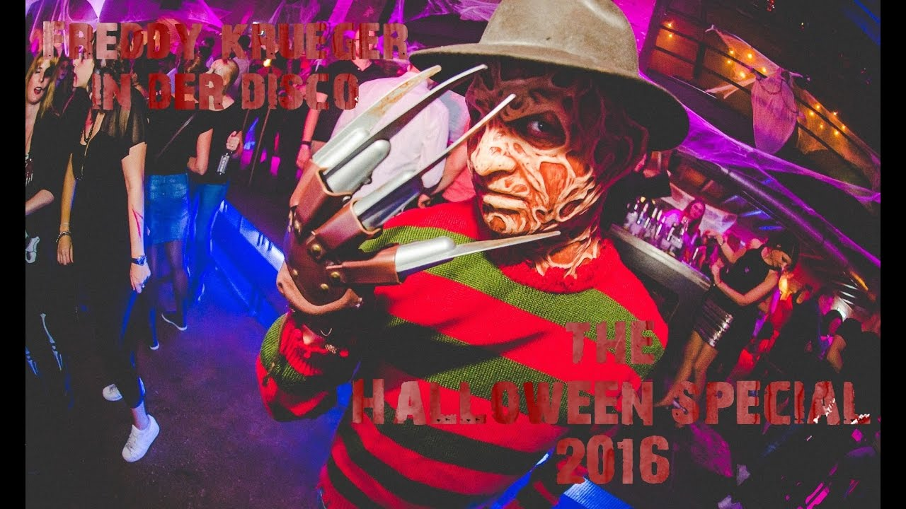 Freddy Krueger In Der Disco Halle Tor 2 Köln Halloween 2016 Party