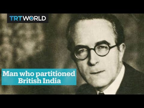 Cyril Radcliffe - The man who partitioned British India