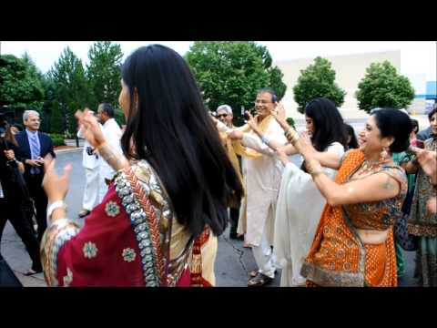 Michigan Indian Wedding Video Highlights - Mobile Baraat, Ceremony, Reception w/ Uplights - DJ TIGER