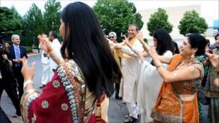 Michigan Indian Wedding Video Highlights - Mobile Baraat, Ceremony, Reception w/ Uplights - DJ TIGER