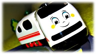 "VIDEO FOR CHILDREN ""Train Railway"" Merry Toy for Toddlers"