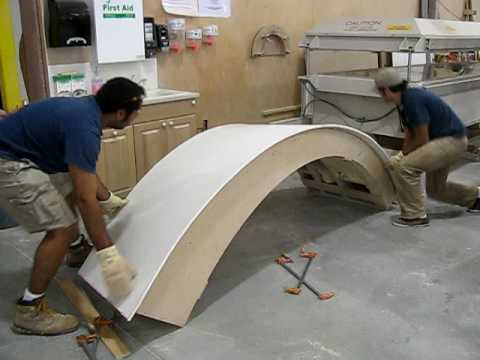 Bending Solid Surface Youtube
