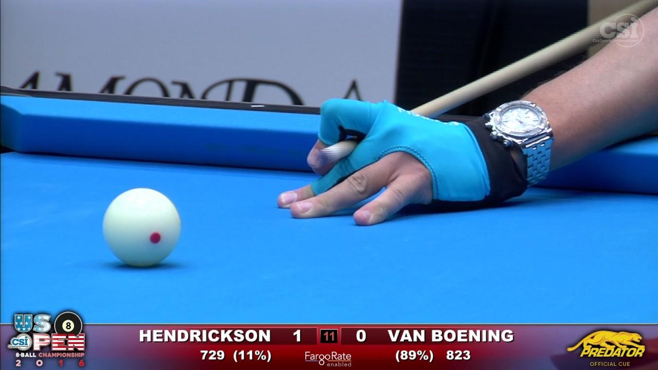 2016 US Open 8-Ball - Final: Shane Van Boening vs Rory Hendrickson