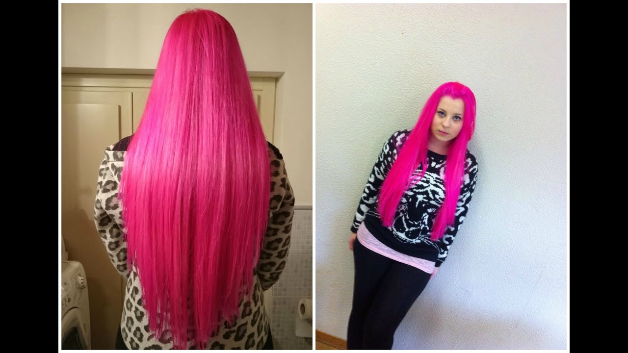 Colore capelli fuxia