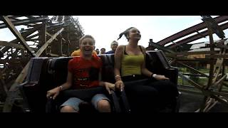 ZADRA Wooden Coaster POV Premier Test - Energylandia Amusement Park Poland