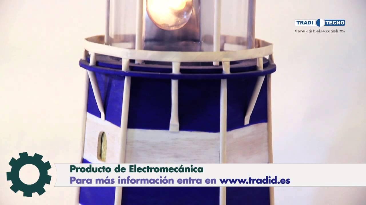 Proyectos de tecnolog a construye tu faro traditecno for Construccion de piletas paso a paso