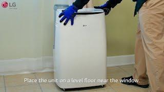 LG Portable Air Conditioner - Installation (LP14118VGRSM)