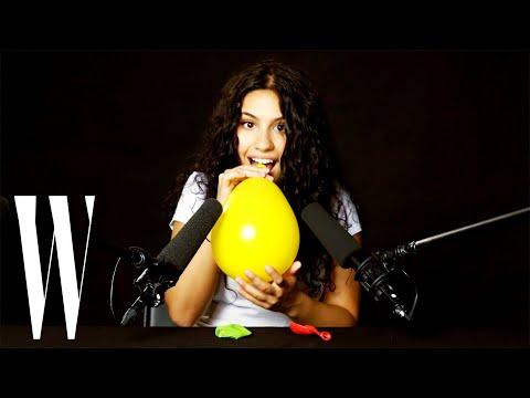 Alessia Cara Explores ASMR | W Magazine