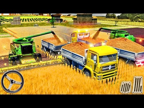Farm Truck Driving School 2018: USA Farming Games - Tractor Farming Sim - Android GamePlay