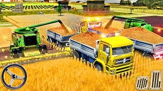 Farm Truck Driving School 2018: USA Farming Games - Tractor Farming Sim - Android GamePlay screenshot 3