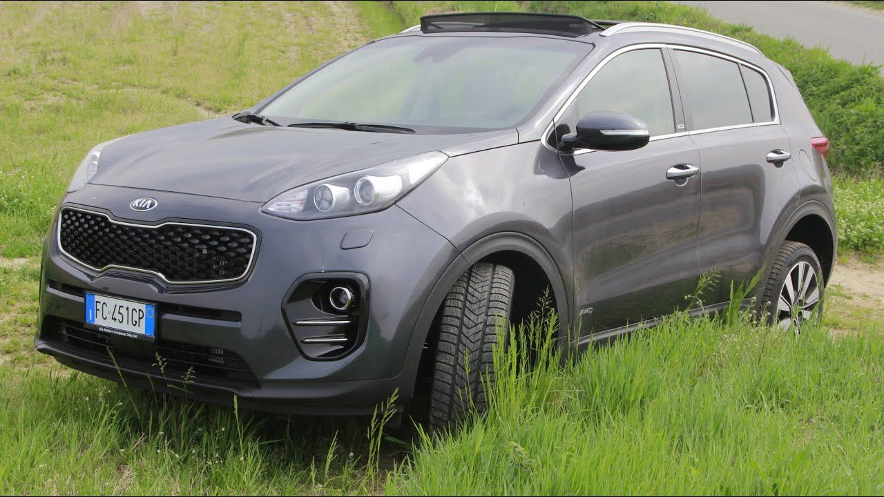 test drive kia sportage rebel awd 2 0 crdi 136cv youtube. Black Bedroom Furniture Sets. Home Design Ideas
