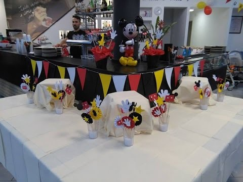 Idee Per Un Party A Tema Topolino Mickey Mouse Style Youtube