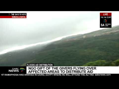 Gift of the Givers distributes aid in KZN