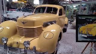 Выставка ретро автомобилей в музее техники Зинсхайм.