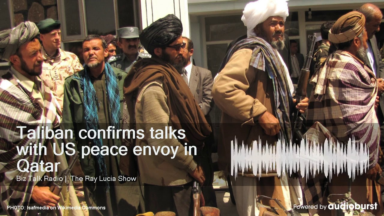 bd3481df Taliban confirms talks with US peace envoy in Qatar - YouTube