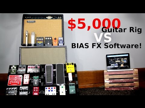 $5,000 Guitar Rig vs BIAS FX Software!