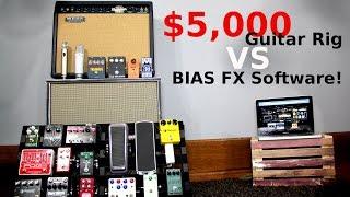 $5,000 Guitar Rig vs BIAS FX Software!