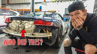 FIXING MY BROKEN AUDI R8
