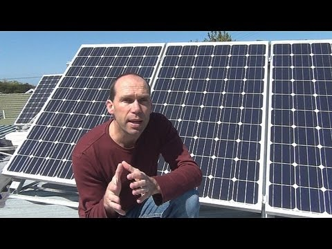 Home Solar Power Installation - YouTube