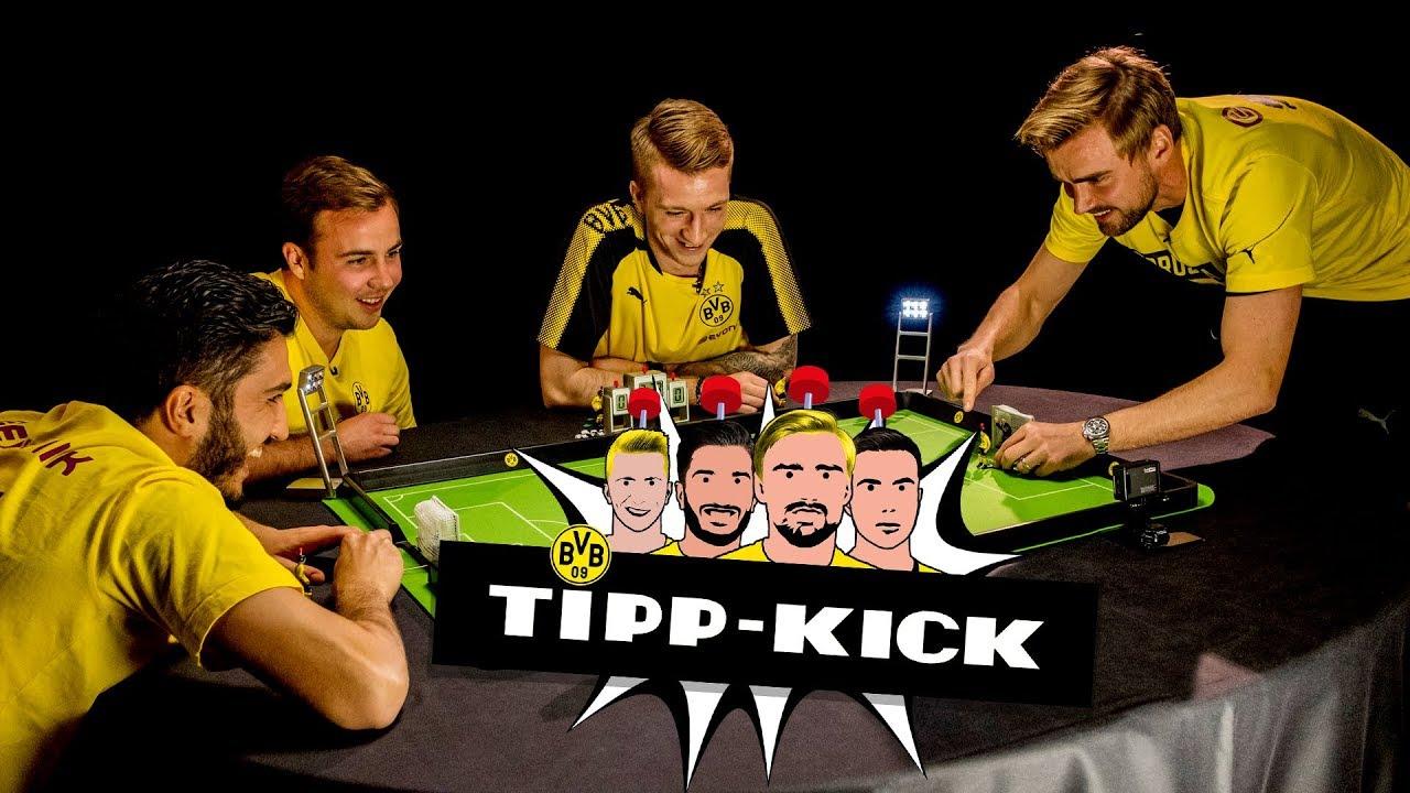 Nuri Sahin vs. Marcel Schmelzer | Tipp-Kick-Challenge beim BVB |