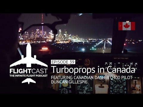 Episode 39 - Turboprops in Canada with Duncan Gillespie