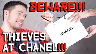 ROBBED AT CHANEL - storytime
