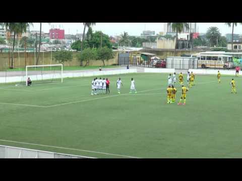 Second 16e de finale de la Coupe CAF ASEC Mimosas-CF Mounana mi-temps 1
