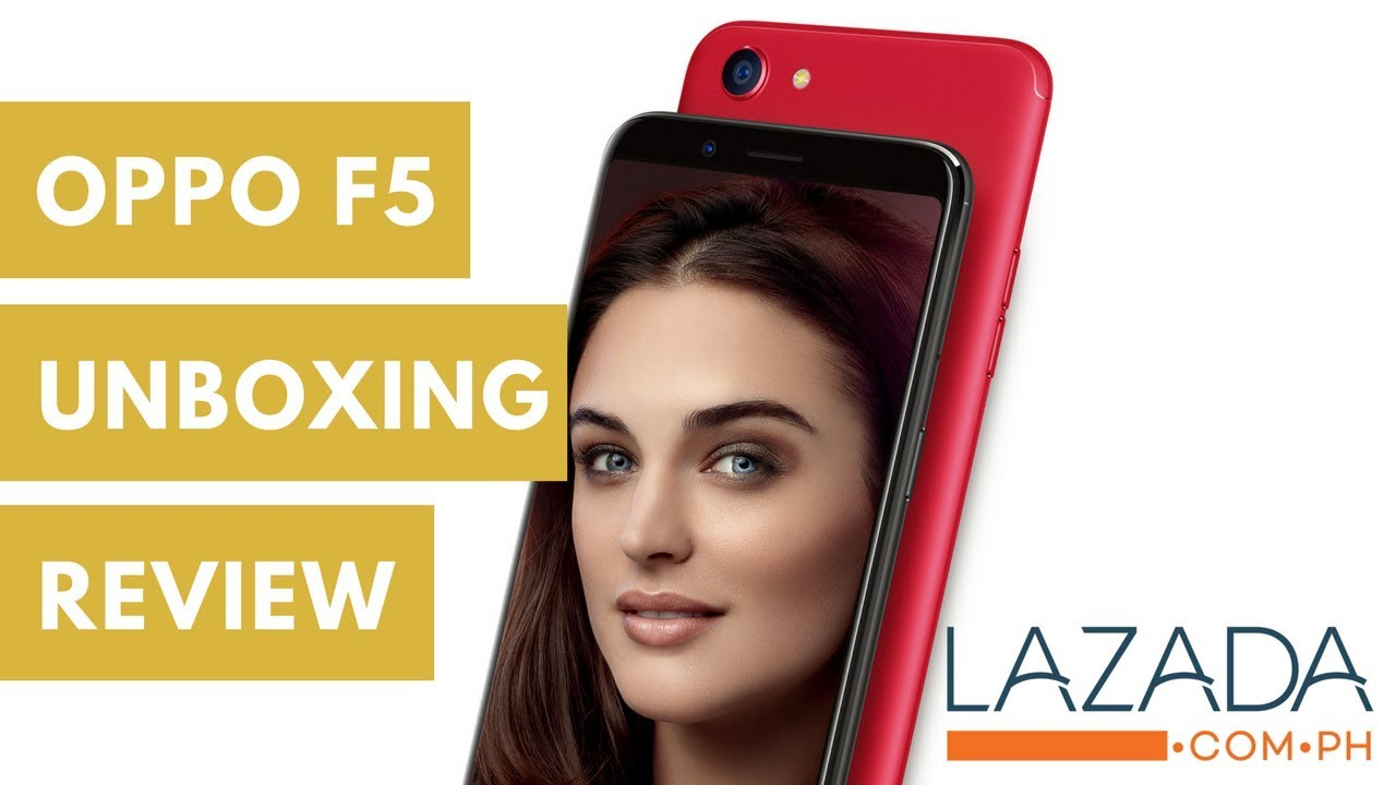 new styles 5962a d5197 Unboxing Plus Review Oppo f5 - Item from LAZADA