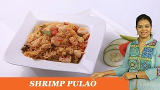 Shrimp Pulao - Mrs Vahchef
