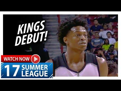 De'Aaron Fox Full Kings Debut Highlights vs Suns (2017.07.07) Summer League - 18 Pts, 5 Stls, SICK!