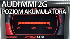 Aktywacja Poziomu Akumulatora Audi Mmi 2g A4 A5 A6 A8 Q7