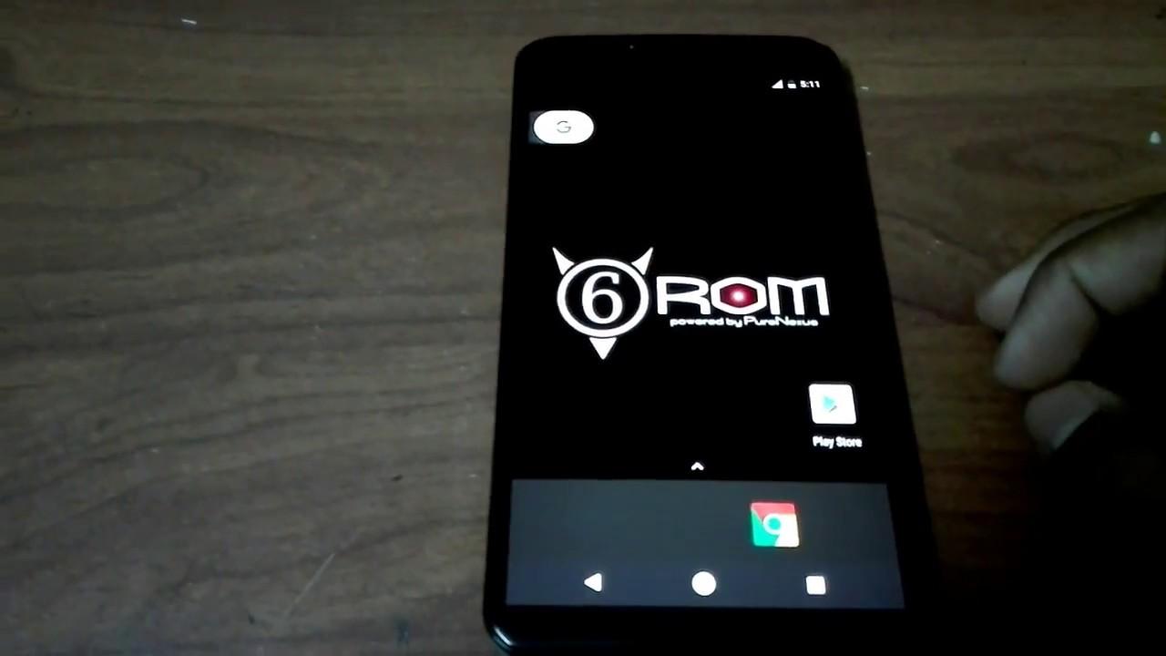 how to install Android Oreo (SIX ROM) on nexus 6