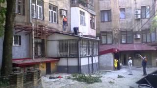 НОВОРОССИЯ №4, обстрел центра Донецка