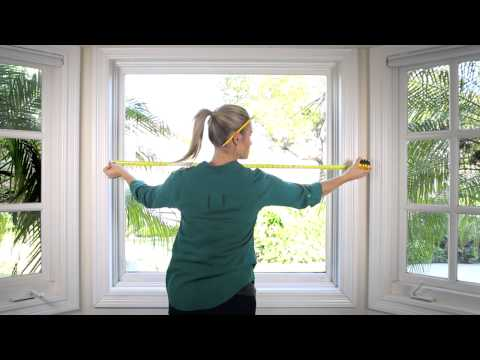How to Measure your Window for Roman Shades