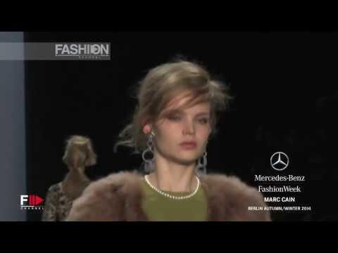 Fashion Show MARC CAIN Autumn Winter 2014 2015 Berlin HD by Fashion Channel