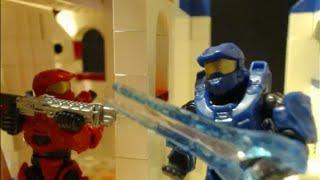 "Team Slayer Doubles on ""Space Base"" (Halo Mega Bloks Stop Motion)"