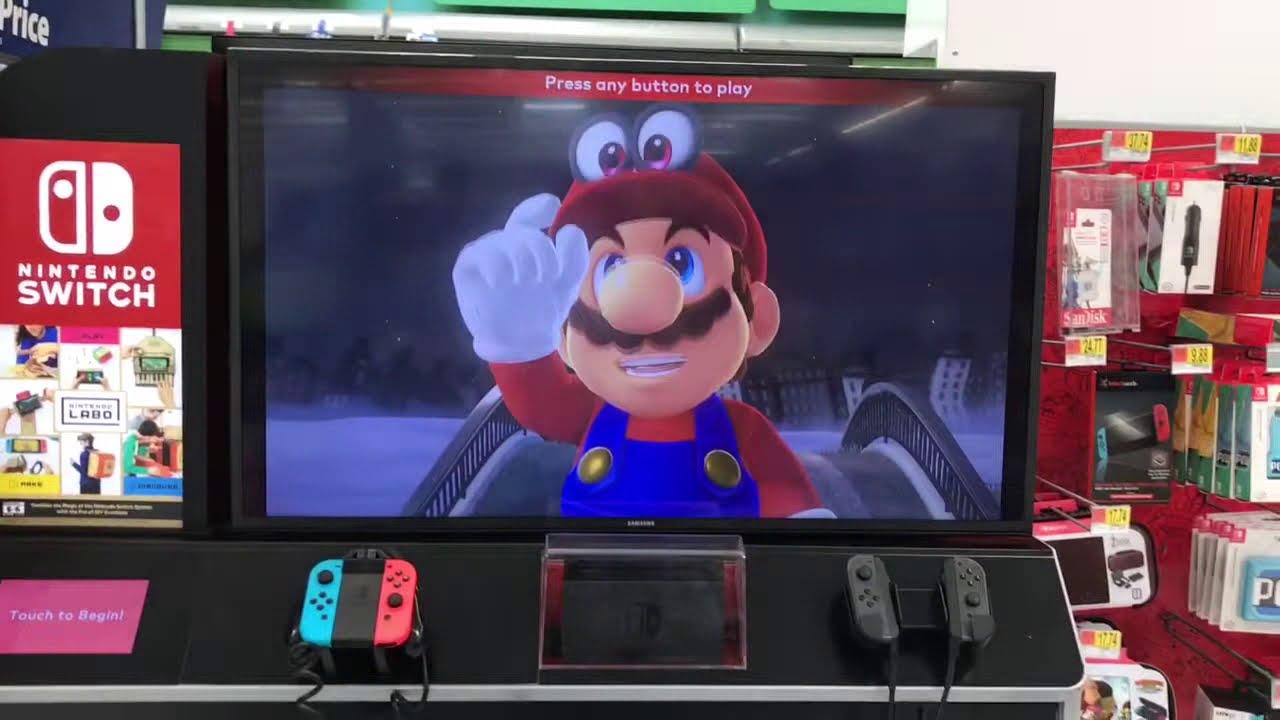 Mama Walmart Nintendo Switchlabo3ds Super Mario Odyssey Anime