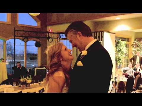 Bride and groom's first dance to