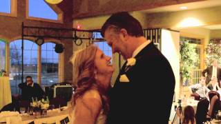 """Bride and groom's first dance to """"The Promise"""" by Tracy Chapman"""