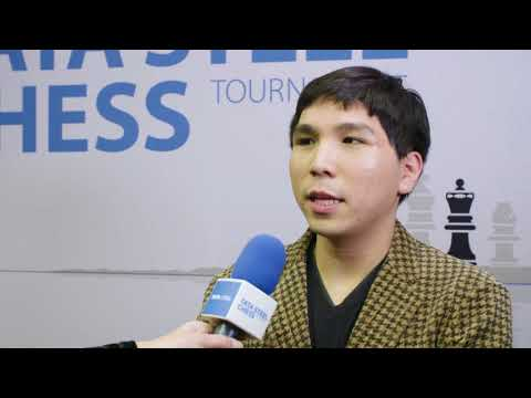 Tata Steel Chess 2018 -  Interview - Wesley So - Round 8