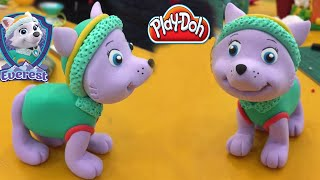 PlayDoh How To Make Everest - PAW Patrol Rescue Run - PAW Patrol Characters