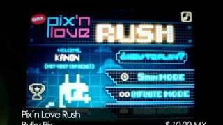 """AeE - Ipod / Iphone - Reseña del juego """" Pix'n Love Rush """""""