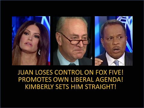 Juan Williams Loses Control On The Five! Promotes Own Liberal Agenda! Sucks The Air Out Of The Room!