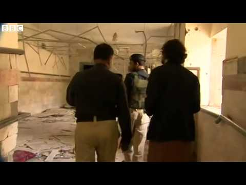 BBC News   Pakistan blast  Inside bomb damaged Quetta hospital mp4