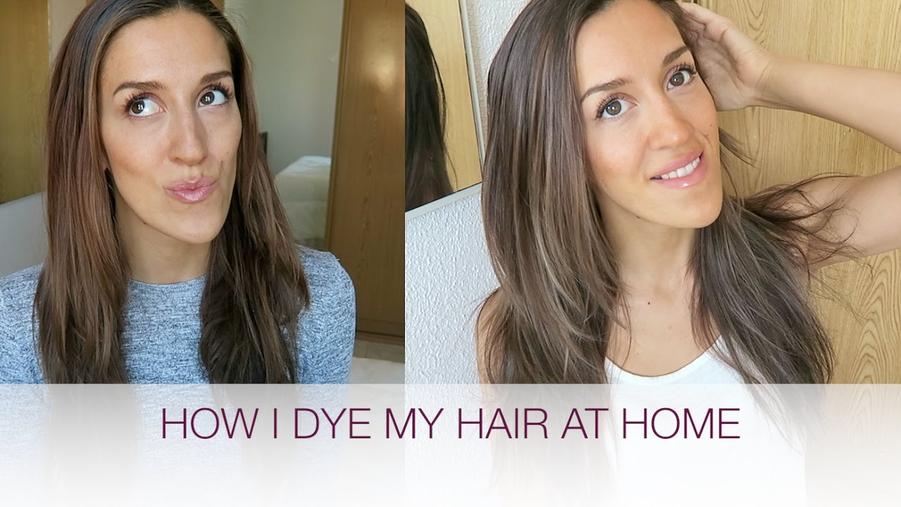 Light Brown Highlights Subtle Balayage At Home Natalie Danza