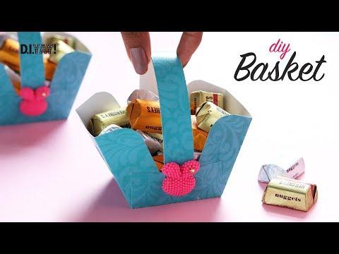 DIY Paper Basket | Gift Basket | How to make Basket