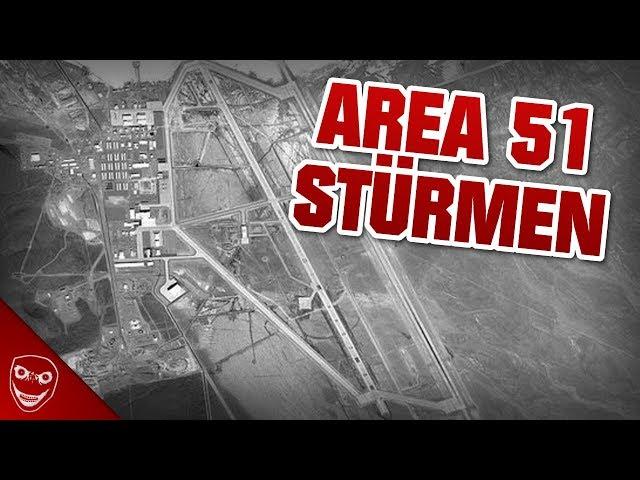 Tausende planen die Area 51 zu stürmen!