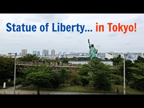 Statue of Liberty in Tokyo! Odaiba, Japan