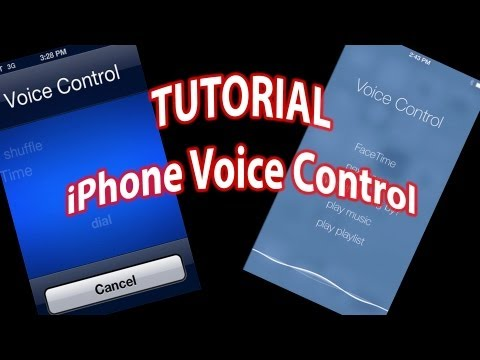 How To Use iPhone Voice Control - Commands and Turning It Off