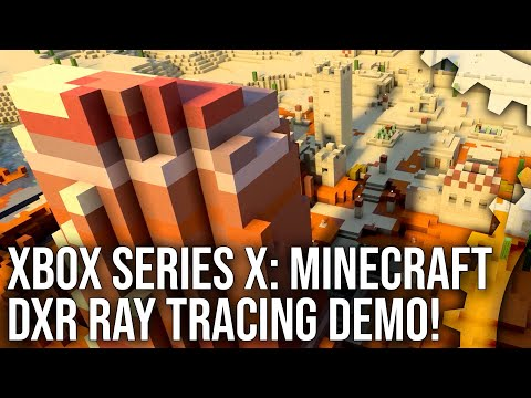 Minecraft DXR on Xbox Series X: Next-Gen Ray Tracing Analysis!
